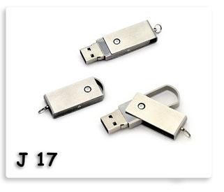 แฟลชไดร์ฟพวงกุญแจโลหะห้อยพกพาสะดวก Flash Drive USB JumpDrive ทรัมป์ไดร์ฟ ของพรีเมี่ยมสกรีนโลโก้