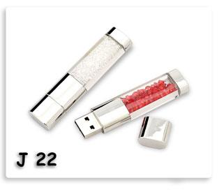 แฟลชไดร์ฟ คริสตัล,ทับทิบ  Flash Drive USB JumpDrive ทรัมป์ไดร์ฟ ของพรีเมี่ยมสกรีนโลโก้