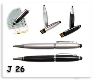 ปากกาแฟลชไดร์ฟทรัชกสรีนหน้าจอในตัว เป็น USB FlashDrive ในตัว เป็นสินค้าพรีเมี่ยม พร้อมสกรีนข้อความ