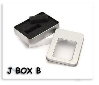 กล่องโลหะ สำหรับ ใส่แฟลชไดร์ฟ Flash Drive USB Box JumpDrive coverbox ทรัมป์ไดร์ฟบล็อก  กล่องโลหะบรรจุโฟมรองรับ ของพรีเมี่ยมสกรีนโลโก้ให้ฟรี