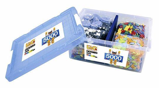 LaQ Basic 5000 ตัวต่อเสริมทักษะลาคิว ของเล่นเสริมพัฒนการจากญี่ปุ่น เสริมสร้างความคิดสร้างสรรค์ และจินนตาการ พัฒนากล้ามเนื้อมัดเล็ก