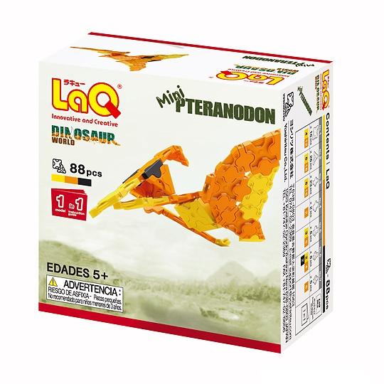 LaQ Mini Pteranodon ลาคิว ชุดไดโนเสาร์ มินิ เพอราโนดอน กล่องสีส้ม
