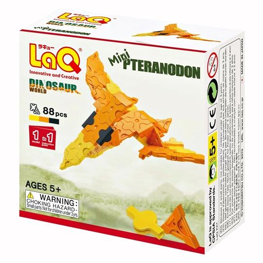 LaQ Mini Pteranodon ลาคิว ชุดมินิ ไดโนเสาร์ เพอราโนดอน กล่องสีส้ม