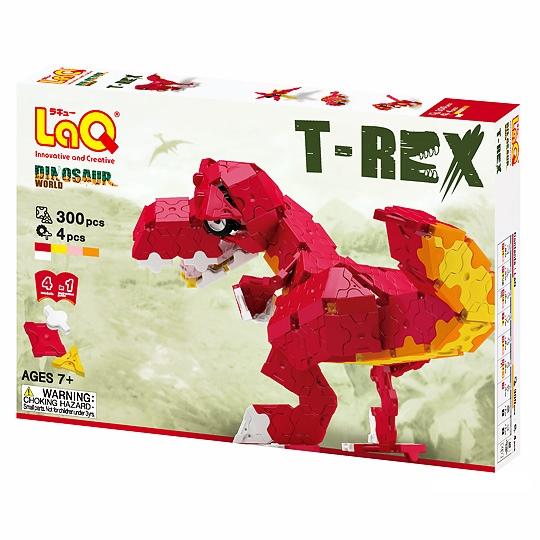 ลาคิว ชุดไดโนเสาร์ ทีเร็กซ์ LaQ Dinosaure World T-Rex กล่องสีแดง