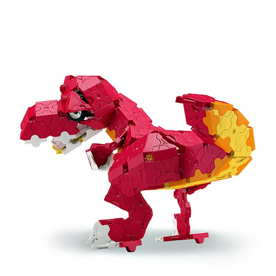 ไดโนเสาร์ สีแดง ทีเร็กซ์ ลาคิว LaQ T-Rex Red Dino