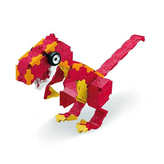 Red Dinosaur LaQ ลาคิว ชุดไดโสเสาร์ สีแดง โมเดล