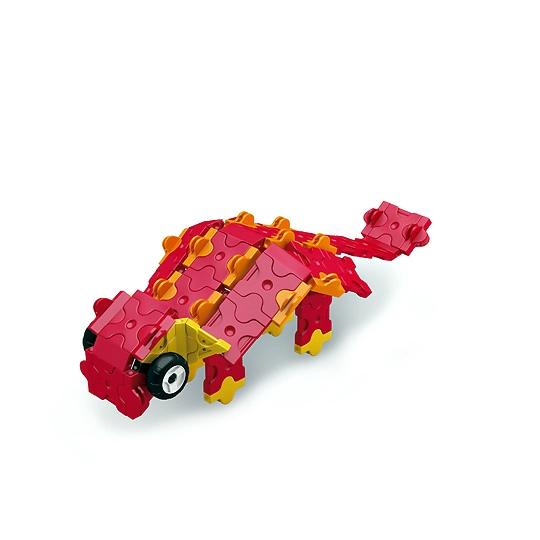 ลาคิว ไดโนเสาร์ สีแดง LaQ Red Dinosaure กล่องสีแดง