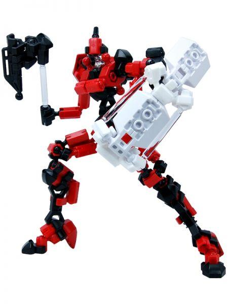 โมเดล หุ่นยนต์สีแดง Asoblock Epsilon Red ตัวต่ออโซบล็อค ของเล่น เสริมพัฒนาการเด็ก สื่อเสริมทักษะ่จากญี่ปุ่น พัฒนาสมองซีกขวา