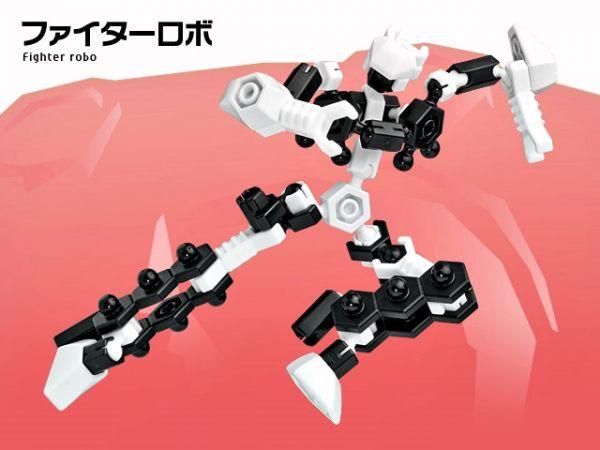 ตัวต่ออโซบล็อค หุ่นยนต์ 1A10 Asoblock ของเล่น เสริมพัฒนาการเด็ก เสริมทักษะ ญี่ปุ่น Firther Robo โมเดล