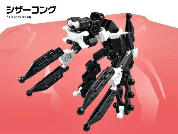 ตัวต่อ อโซบล็อค หุ่นยนต์ 1A10 Asoblock ของเล่น เสริมพัฒนาการเด็ก เสริมทักษะ ญี่ปุ่น Firther Robo โมเดล