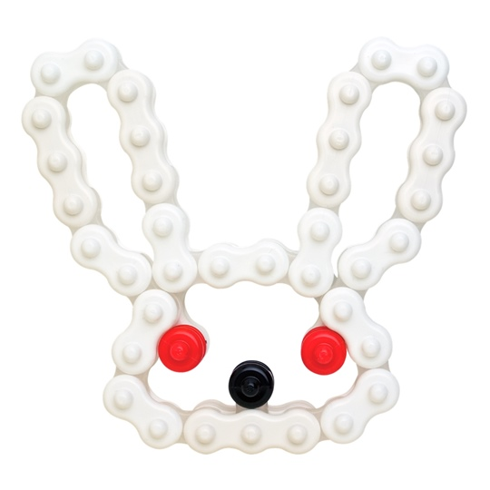 หัวกระต่าย Chieblo 10AC ตัวต่อเสริมพํมนาการเด็ก จิเอโบะ สำหรับเด็ก 3 ขวบขึ้นไป