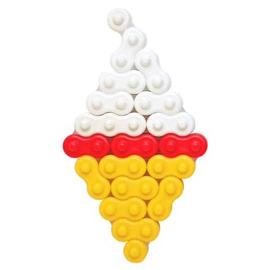 ตัวต่อจิเอโบะ 10AC ชุดของหวานและผลไม้ โมเดล ไอศครีม จากญี่ปุ่น ช่วยพัฒนาสมอง กล้ามเนื้อมัดเล็ก สำหรับเด็ก 3 ขวบขึ้นไป