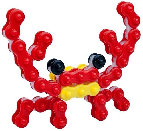 ตัวต่อจิเอโบะ Chieblo ปูสีแดง ของเล่นเสริมพัฒนาการ จากญี่ปุ่น พัฒนากล้ามเนื้อมัดเล็ก พัฒนาสมองทั้งซีกซ้ายและซีกขวา