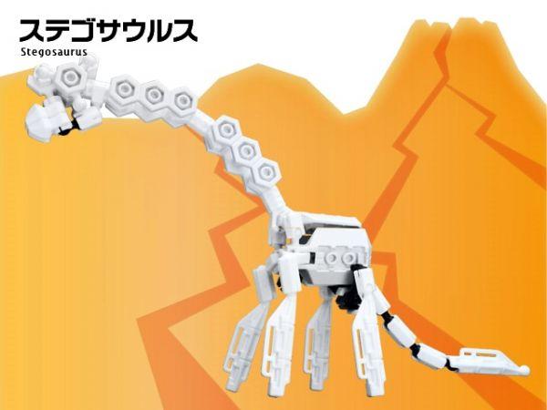 ตัวต่ออโซบล็อค ไดโนเสาร์ 1B10 Asoblock Dinosaurs ของเล่น เสริมพัฒนาการเด็ก เสริมทักษะ ญี่ปุ่น โมเดล
