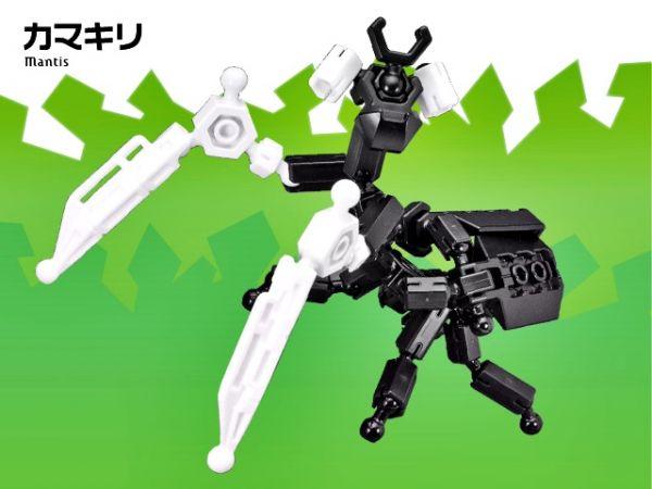 ตัวต่ออโซบล็อค แมลง 1C10 Asoblock ของเล่น เสริมพัฒนาการเด็ก เสริมทักษะ ญี่ปุ่น โมเดล