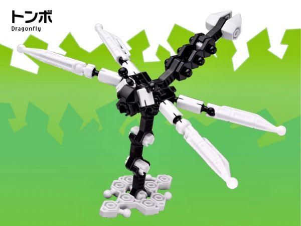 ตัวต่อ อโซบล็อค แมลง 1C10 Asoblock ของเล่น เสริมพัฒนาการเด็ก เสริมทักษะ ญี่ปุ่น IQ EQ โมเดล