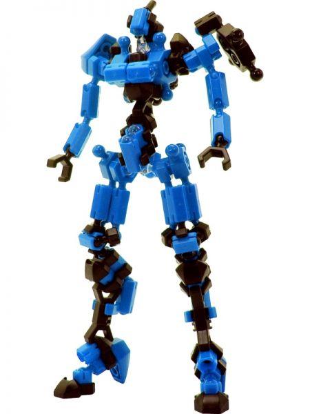 ตัวต่ออโซบล็อค Asoblock Epsilon Blue หุ่นสีน้ำเงิน ของเล่น เสริมพัฒนาการเด็ก สื่อเสริมทักษะ จากญี่ปุ่น เสริม IQ EQ