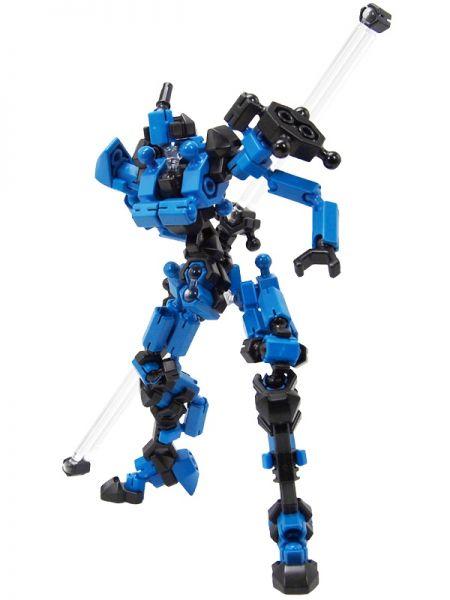โมเดล หุ่นยนต์สีน้ำเงิน Asoblock Epsilon Blue ตัวต่ออโซบล็อค ของเล่น เสริมพัฒนาการเด็ก สื่อเสริมทักษะ่จากญี่ปุ่น พัฒนาสมองซีกขวา