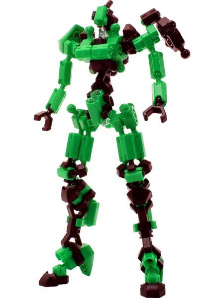 ตัวต่ออโซบล็อค Asoblock Epsilon Green หุ่นยนต์สีเขียว ของเล่น เสริมพัฒนาการเด็ก สื่อเสริมทักษะ จากญี่ปุ่น เสริม IQ EQ