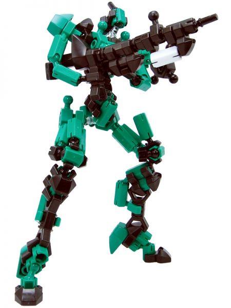 โมเดล Asoblock Epsilon Green หุ่นยนต์สีเขียว ตัวต่ออโซบล็อค ของเล่น เสริมพัฒนาการเด็ก สื่อเสริมทักษะ่จากญี่ปุ่น พัฒนาสมองซีกขวา