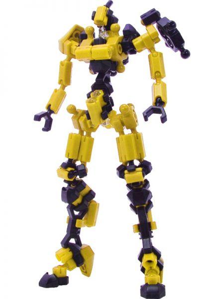 ตัวต่ออโซบล็อค Asoblock Epsilon Yellow หุ่นยนต์สีเหลือง ของเล่น เสริมพัฒนาการเด็ก สื่อเสริมทักษะ จากญี่ปุ่น เสริม IQ EQ