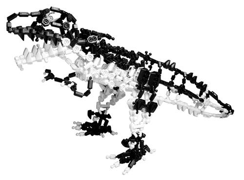 ไดโนเสาร์ อโซบล็อค ASOBLOCK โมเดลขนาอใหญ่ 625 ชิ้น ในชุด 802EX