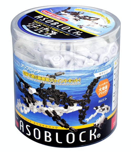 อโซบล็อค ASOBLOCK 402S ปลาฉลาม ของเล่นเสริมพัฒนาการจากญี่ปุ่น พัฒนาสมอง กล้ามเนื้อมัดเล็ก