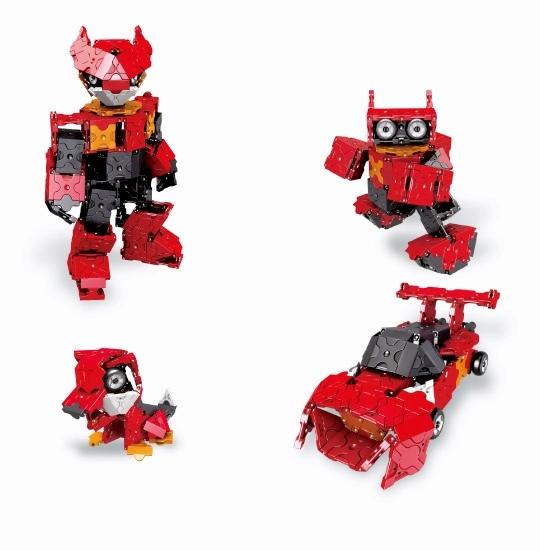 ลาคิว โมเดล หุ่นยนต์ อเล็กซ์ LaQ Robot Alex models ตัวต่อ เสริมทักษะ เสริมพัฒนาการ