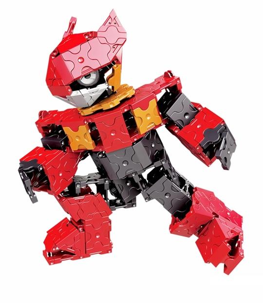 ลาคิว โมเดล หุ่นยนต์ อเล็กซ์ LaQ model robot Alex ความคิดสร้างสรร จินตนาการ ญี่ปุ่น