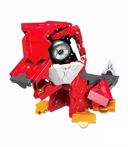 ลาคิว หุ่นยนต์ อเล็กซ์ โมเดล สุนัข LaQ model robot Alex dog ของเล่น ญี่ปุ่น ตัวต่อ