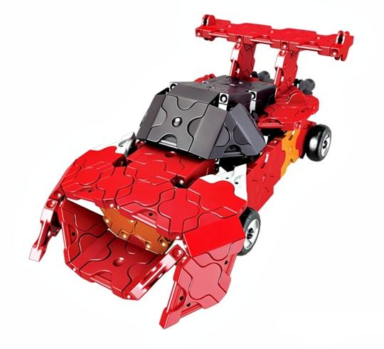 รถยนต์ ลาคิว อเล็กซ์ หุ่นยนต์ LaQ Robot Alex พัฒนาสมอง พัฒนากล้ามเนื้อมัดเล็ก