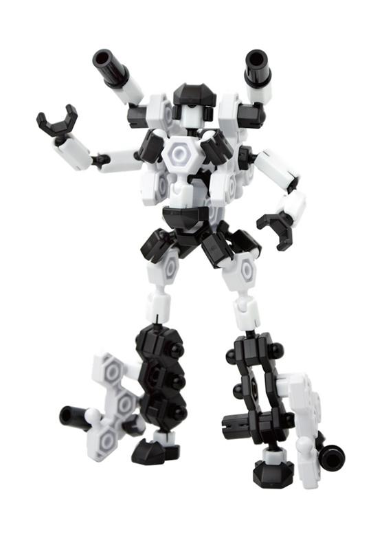 Asoblock Robot 15MC อโซบล็อค ชุดหุ่นยนต์ 2 in 1 ของเล่น เสริมทักษะ จากญี่ปุ่น