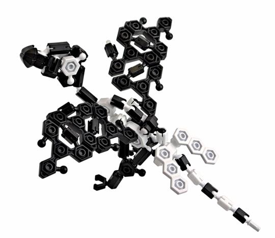Asoblock 15KC Dinosaur อโซบล็อค ไดโนเสาร์ โมเดล ของเล่น เสริมทักษะ พัฒนาสมอง