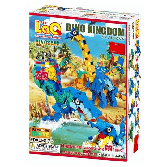 ตัวต่อเสริมพัฒนาการเด็ก LaQ Dino Kingdom ลาคิว ชุดอาณาจักรไดโนเสาร์ จากญี่ปุ่น