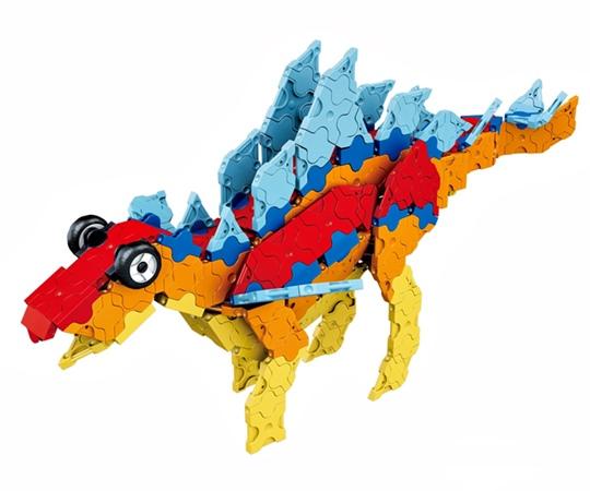 LaQ Dino Kingdom ไดโนเสาร์ สีสวยสดใส สำหรับเด็กอายุ 7 ขวบขึ้นไป