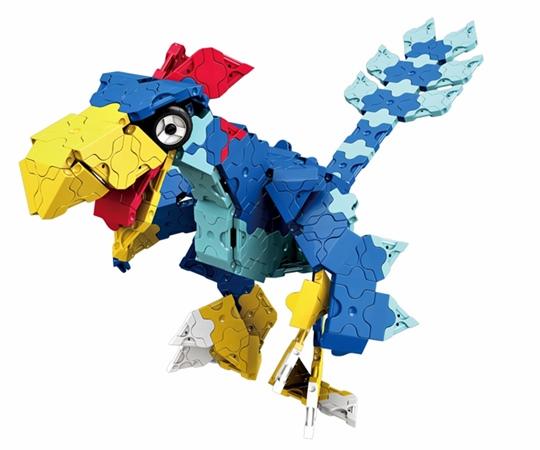 ไดโนเสาร์ ต้นกำเนิดนก ของชุดตัวต่อลาคิว อาณาจักรไดโนเสาร์