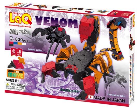 ลาคิว ชุด สัตว์มีพิษ LaQ Venom