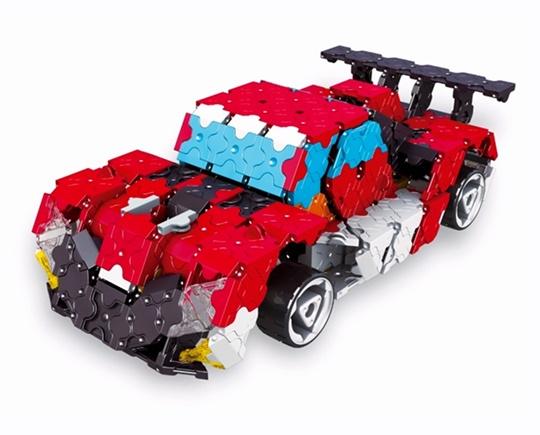 โมเดลรถสปอร์ต ตัวต่อลาคิว LaQ ชุด Speed Wheels ชุดรวมยานยนต์