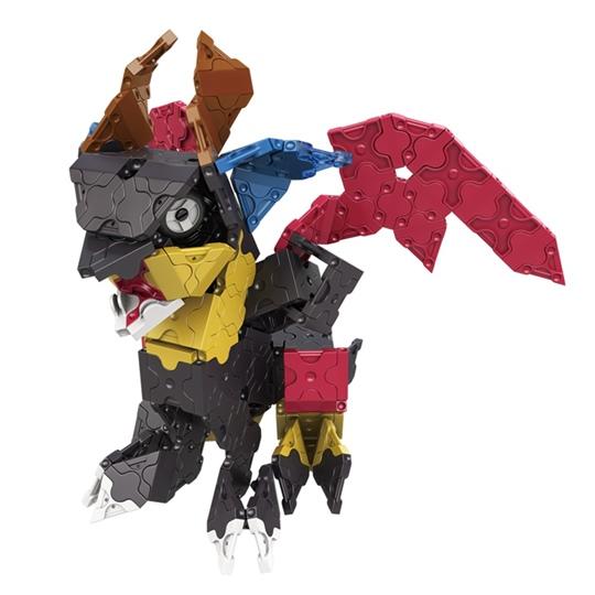 ลาคิว โมเดล สัตว์ในเทพนิยาย แบบที่ 6 ในชุด LaQ Chimera ตัวต่อเสริมพัฒนาการจากญี่ปุ่น