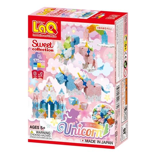 LaQ Unicorn เด็กผู้หญิง ลาคิว เสริมพัฒนาการ เสริมทักษะ จากญี่ปุ่น