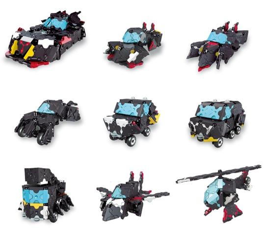 โมเดลยายยนต์ต่างในชุดของ LaQ Black Racer ตัวต่อลาคิว ชุด รถแข่งสีดำ