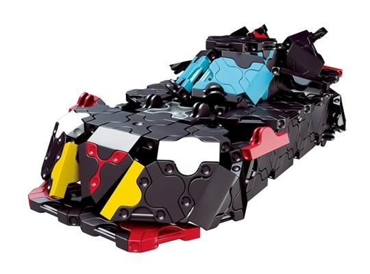 โมเดลรถยนต์แบบที่ 1 ของตัวต่อลาคิว ชุด รถแข่งสีดำ LaQ Black Racer