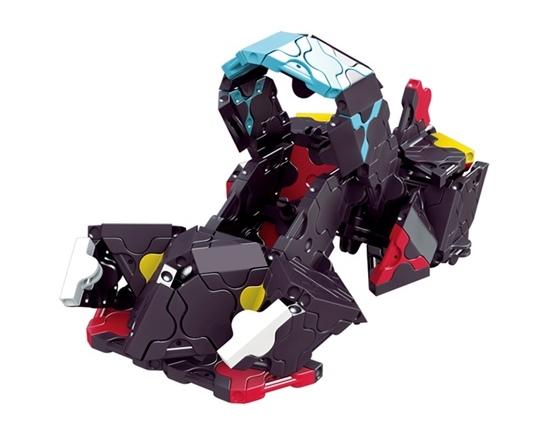 โมเดลรถยนต์แบบที่ 3 ของตัวต่อลาคิว ชุด รถแข่งสีดำ LaQ Black Racer