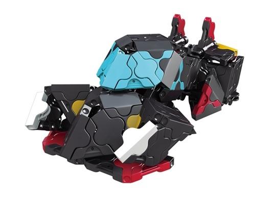โมเดลรถยนต์แบบที่ 4 ของตัวต่อลาคิว ชุด รถแข่งสีดำ LaQ Black Racer