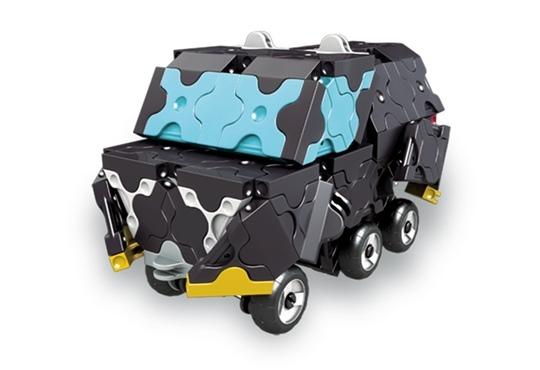 โมเดลรถยนต์แบบที่ 7 ของตัวต่อลาคิว ชุด รถแข่งสีดำ LaQ Black Racer