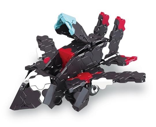 โมเดลเครื่องบินรบ ของตัวต่อลาคิว ชุด รถแข่งสีดำ LaQ Black Racer