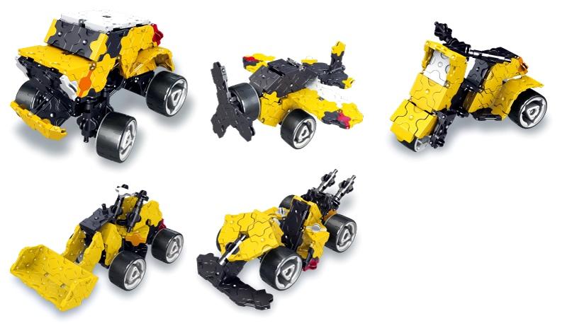 โมเดลยานยนต์แบบต่างๆ ที่สามารถสร้างได้ของชุดตัวต่อลาคิว LaQ Monster Truck