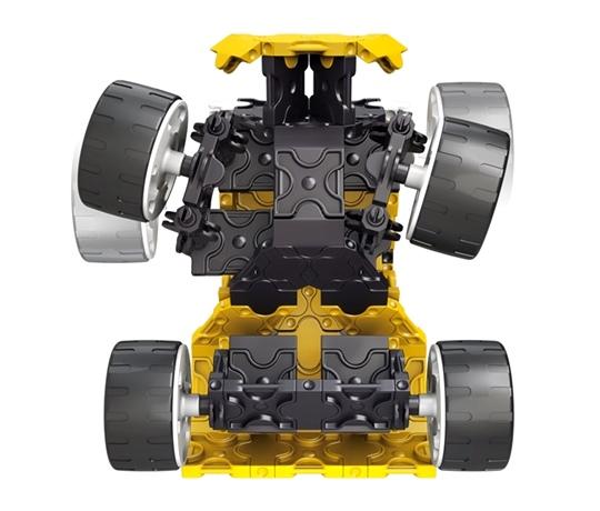 โมเดลรถยนต์แบบที่ 1 ของตัวต่อลาคิว ชุด รถบรรทุกขนาดยักษ์ - LaQ Monster Truck สามารถขยับล้อให้เลี้ยวซ้ายเลี้ยวขวาได้