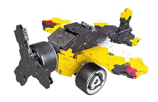 โมเดลยานยนต์แบบที่ 2 ของตัวต่อลาคิว ชุด รถบรรทุกขนาดยักษ์ - LaQ Monster Truck