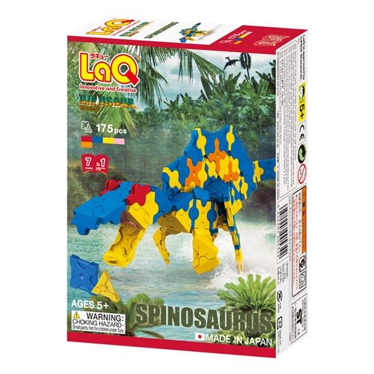 ตัวต่อลาคิว LaQ ชุด Spinosaurus ไดโนเสาร์ สปิโนซอรัส กล่องด้านหน้า